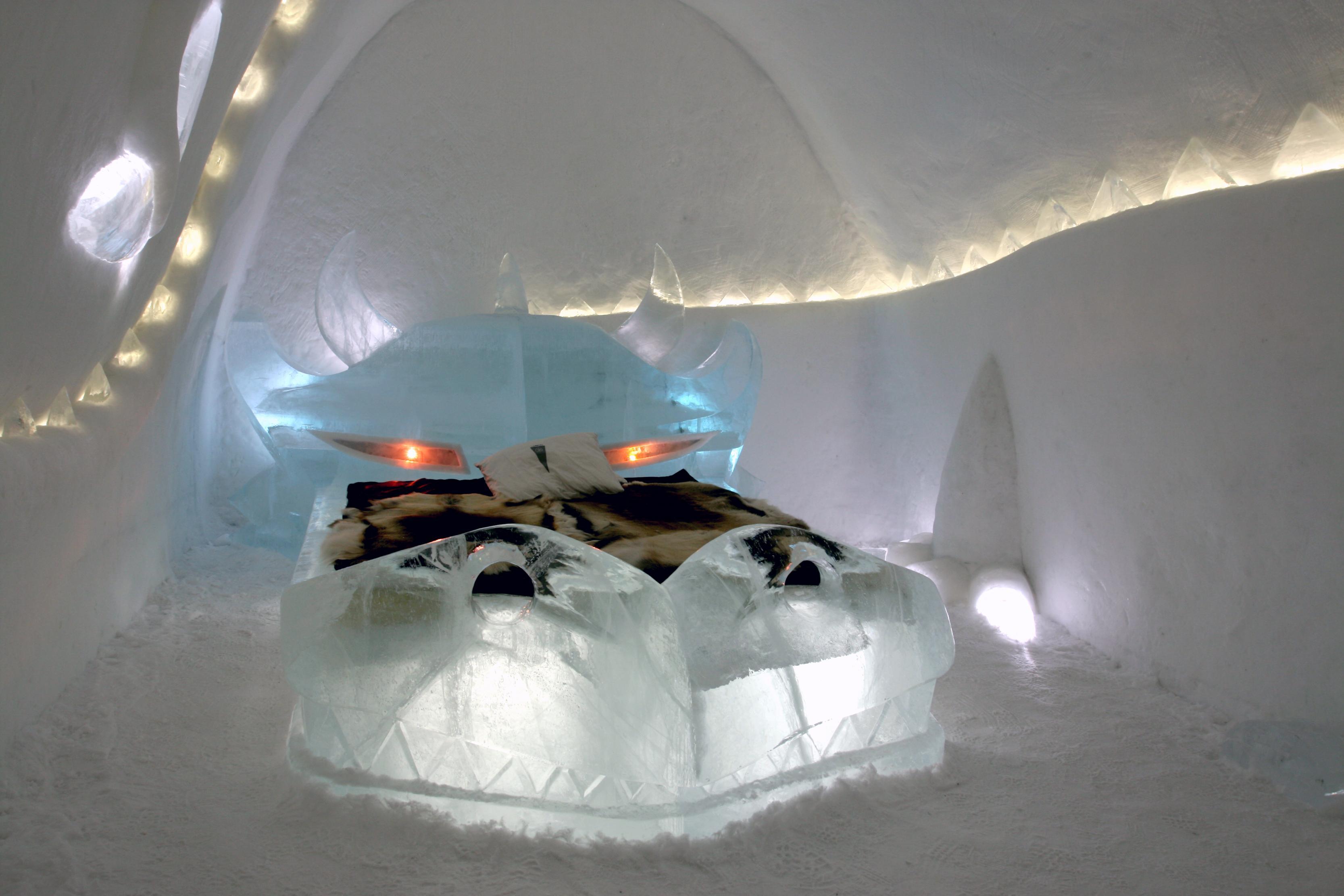 بالصور فندق من الثلج , تجربة فريدة وغريبة 4210 3