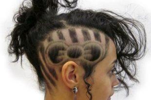 بالصور اغرب قصات الشعر في العالم , صور تسريحات عجيبة ومختلفة 4265 9 310x205