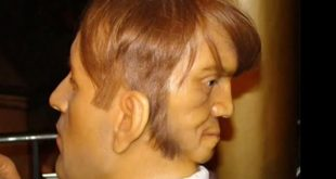 صور الرجل ذو الوجهين , صور غريبة سبحان الخالق