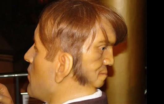 صورة الرجل ذو الوجهين , صور غريبة سبحان الخالق