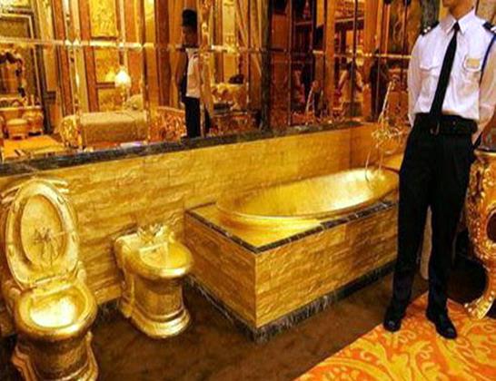 بيت =من الذهب