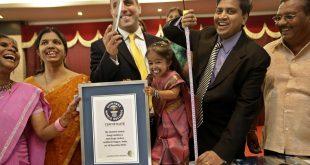 صور اقصر امراه في العالم , صور فوز جويتي امغي الهندية