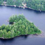 عندما تتحدث الصور , جزر طبيعية علي شكل قلب