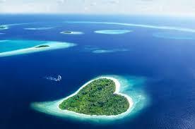 بالصور عندما تتحدث الصور , جزر طبيعية علي شكل قلب 4569 7