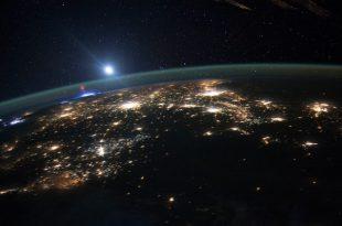 صورة الارض من فوق , صور نادرة للشبح الاحمر