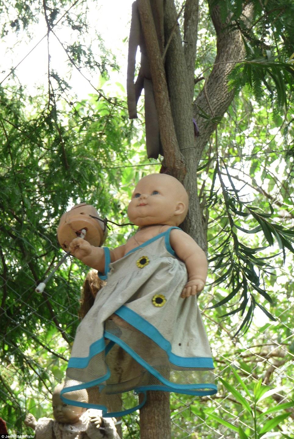 بالصور جزيرة الدمى المسكونة , صور مرعبة وقصة غريبة 4597 11