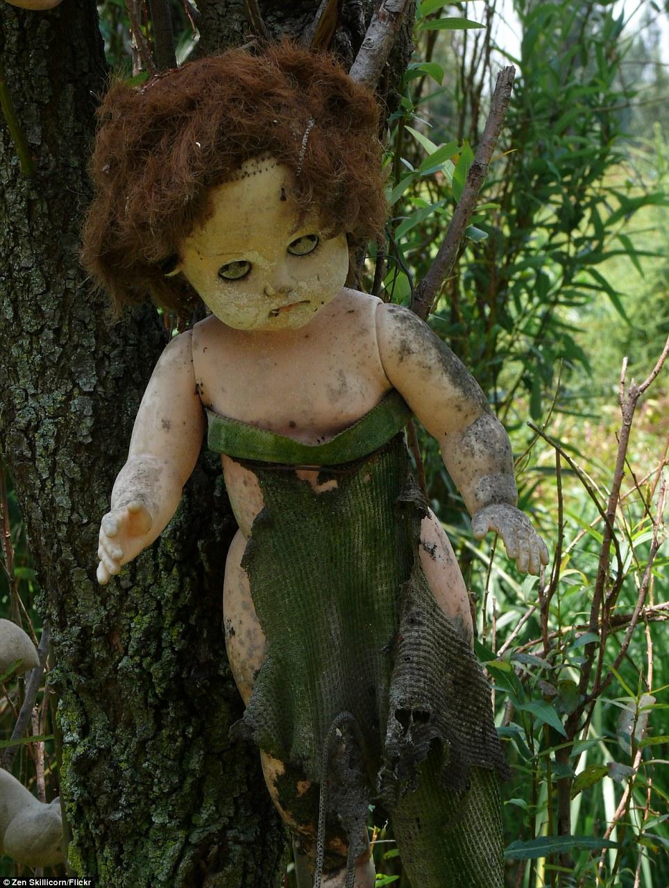 بالصور جزيرة الدمى المسكونة , صور مرعبة وقصة غريبة 4597 8