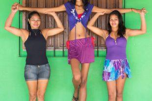 صور اطول مراهقه في العالم , خطوبة اطول مراهقة في العالم البرازيلية اليزاني دا كروز