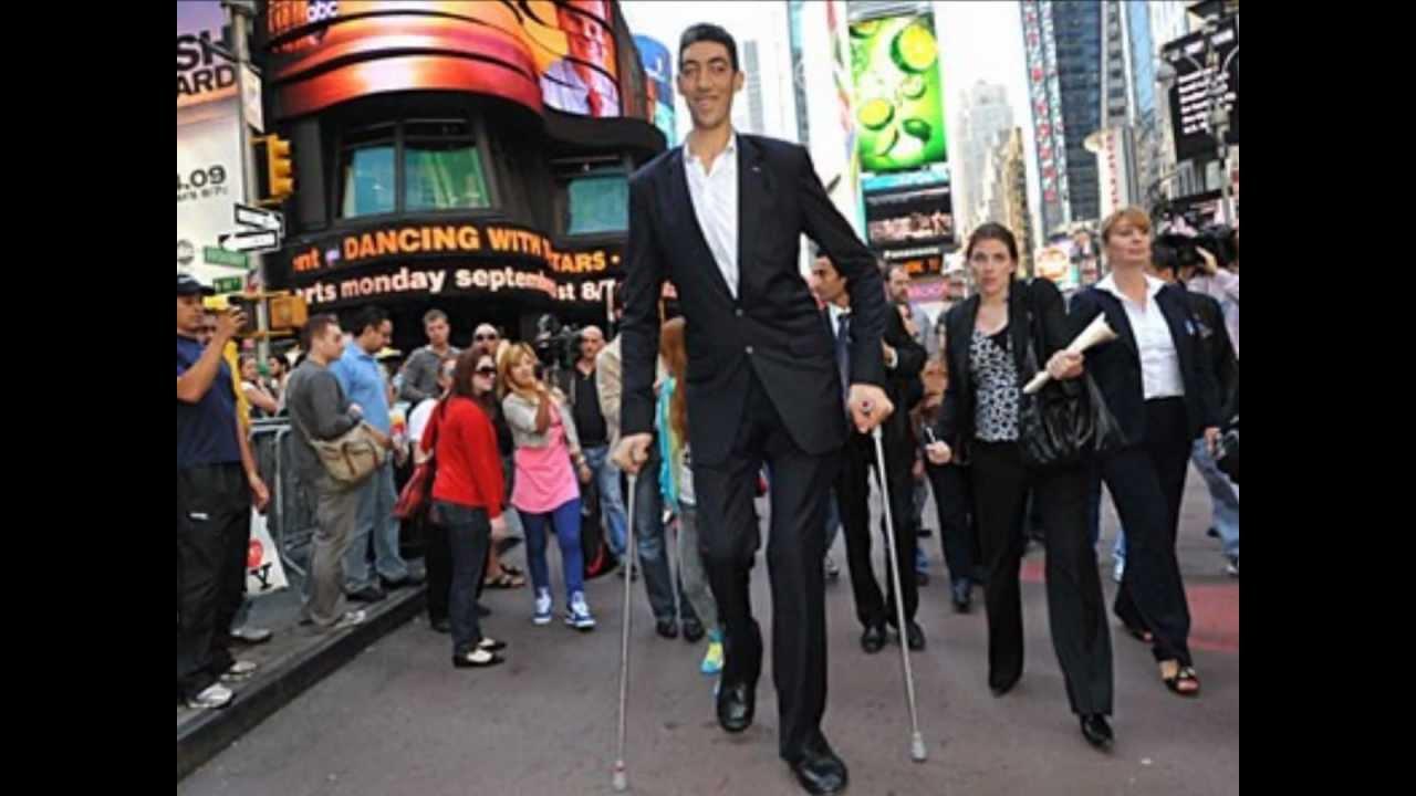 بالصور اطول رجل في العالم , اطول رجل في العالم يتزوج من سورية ويصفها بانها حب حياته 4706 3