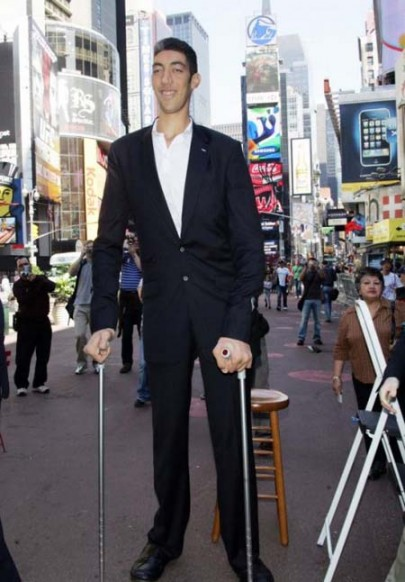 بالصور اطول رجل في العالم , اطول رجل في العالم يتزوج من سورية ويصفها بانها حب حياته 4706 5