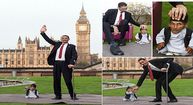 بالصور اطول رجل في العالم , اطول رجل في العالم يتزوج من سورية ويصفها بانها حب حياته 4706 8