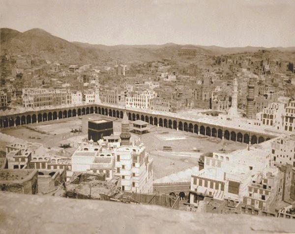 صورة صور للحرم الشريف , صور الحرم المكى قديما وحديثا