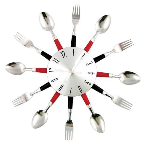 صور ساعات للمطبخ , ديكورات ساعات مطابخ جديده ومودرن تجنن