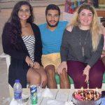 صور منه عرفه , منة عرفة تخطف الانظار باطلالة جريئة في احتفالها بعيد ميلاد صديقها