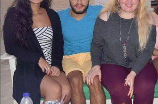 صورة صور منه عرفه , منة عرفة تخطف الانظار باطلالة جريئة في احتفالها بعيد ميلاد صديقها