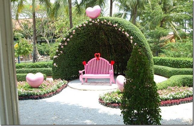 صوره حديقة الحب في تايلند , شئ من الخيال الرائع