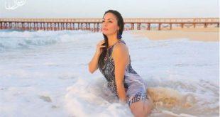 صور نرمين الفقى , نرمين الفقي باطلالة جريئة على الشاطئ وفي المياه