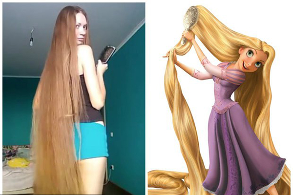 صورة اطول شعر في العالم , صاحبه اطول شعر فى العالم باطلاله جديده مميزه