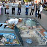 فن الرسم على الشوارع , ابداع بلا حدود برسومات ثلاثيه