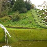 حديقة التكهنات الكونية في اسكتلندا , افضل صور لحدائق غريبه حول العالم