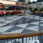 حفرة عميقة ترعب الناس بالخداع البصري , صور لحفرة 3D في ستوكهولم