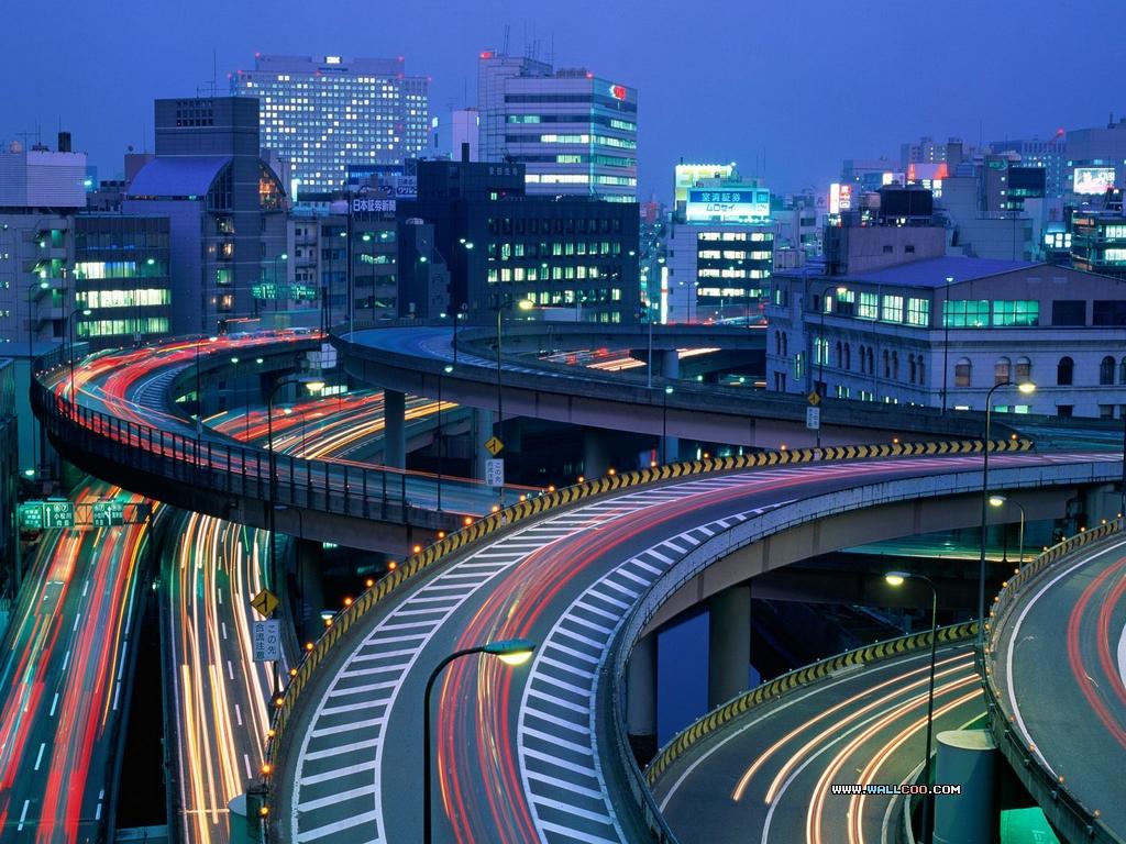 صورة اليابان في الليل , سحر اليابان ليلا