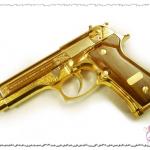 صور اسلحه من ذهب  , صور اسلحه صدام حسين الذهبيه