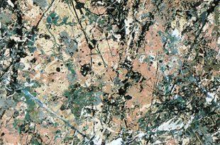 صوره لوحات جاكسون بولوك , اروع الوحات الفنيه