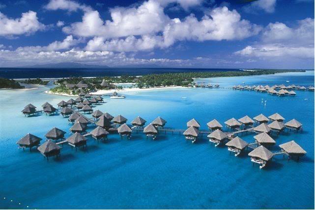 صورة جزر بورا بورا في فرنسا , اجمل جزر المحيط الهادى