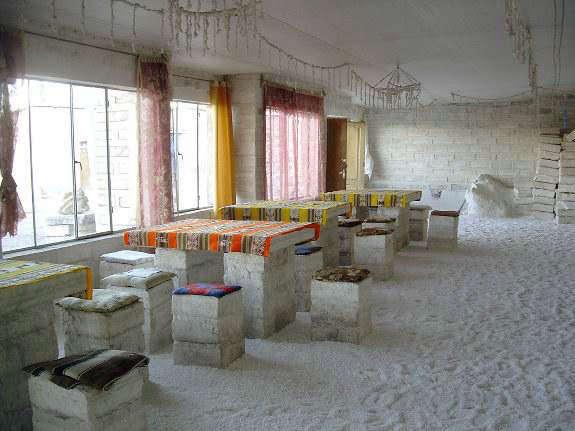 صوره فندق مصنوع من الملح , اغرب الفنادق فى العالم