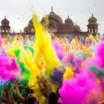 عيد الالوان عند الهنود عادات غريبة , مهرجان هولي للالوان