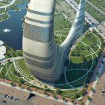 دبي تبني برج جديد على شكل هلال القمر , ناطحة سحاب الهلال في دبي