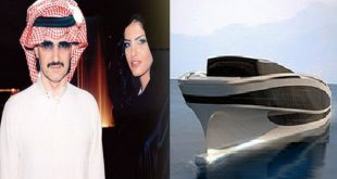 صور هديه الوليد بن طلال لزوجته , يخت متحرك قمة في الروعة والخيال