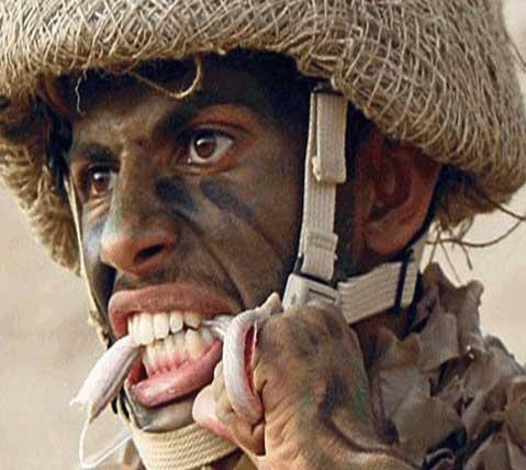 صوره افضل صورة في العالم لضابط سعودي , ملامح معبرة عن القوة والشجاعة