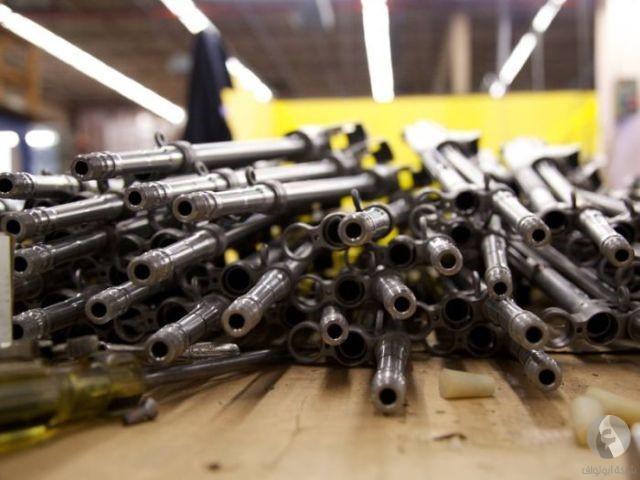 صوره صور مصنع اسلحة , اكبر مصانع الاسلحة بمدينة الخليل