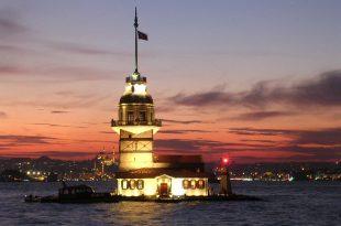 صورة مطعم برج البنات في تركيا , صور مزار سياحي بتركيا