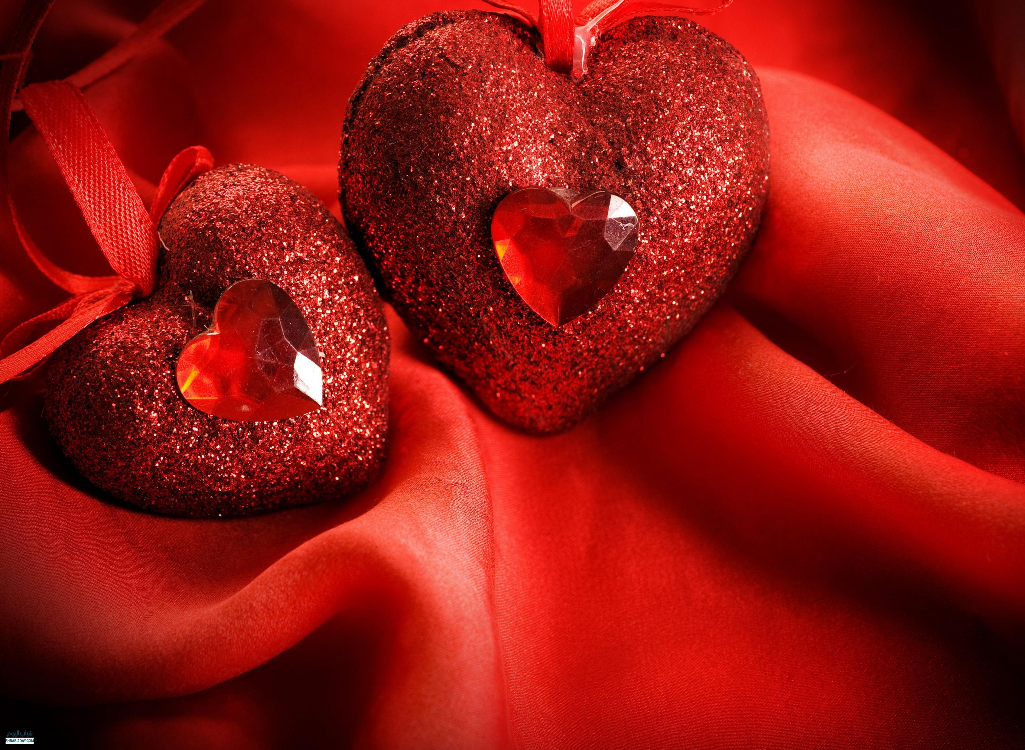 صورة اجمل قلوب رومانسية , صور قلوب حمراء