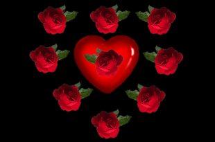 صوره اجمل قلوب رومانسية , صور قلوب حمراء