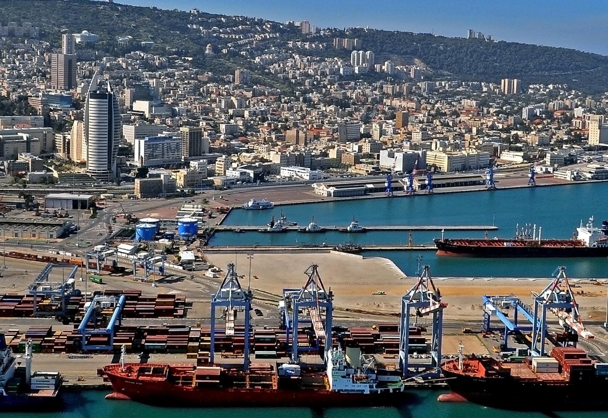 صوره حيفا عروس البحر , اكبر مدينة فلسطينية