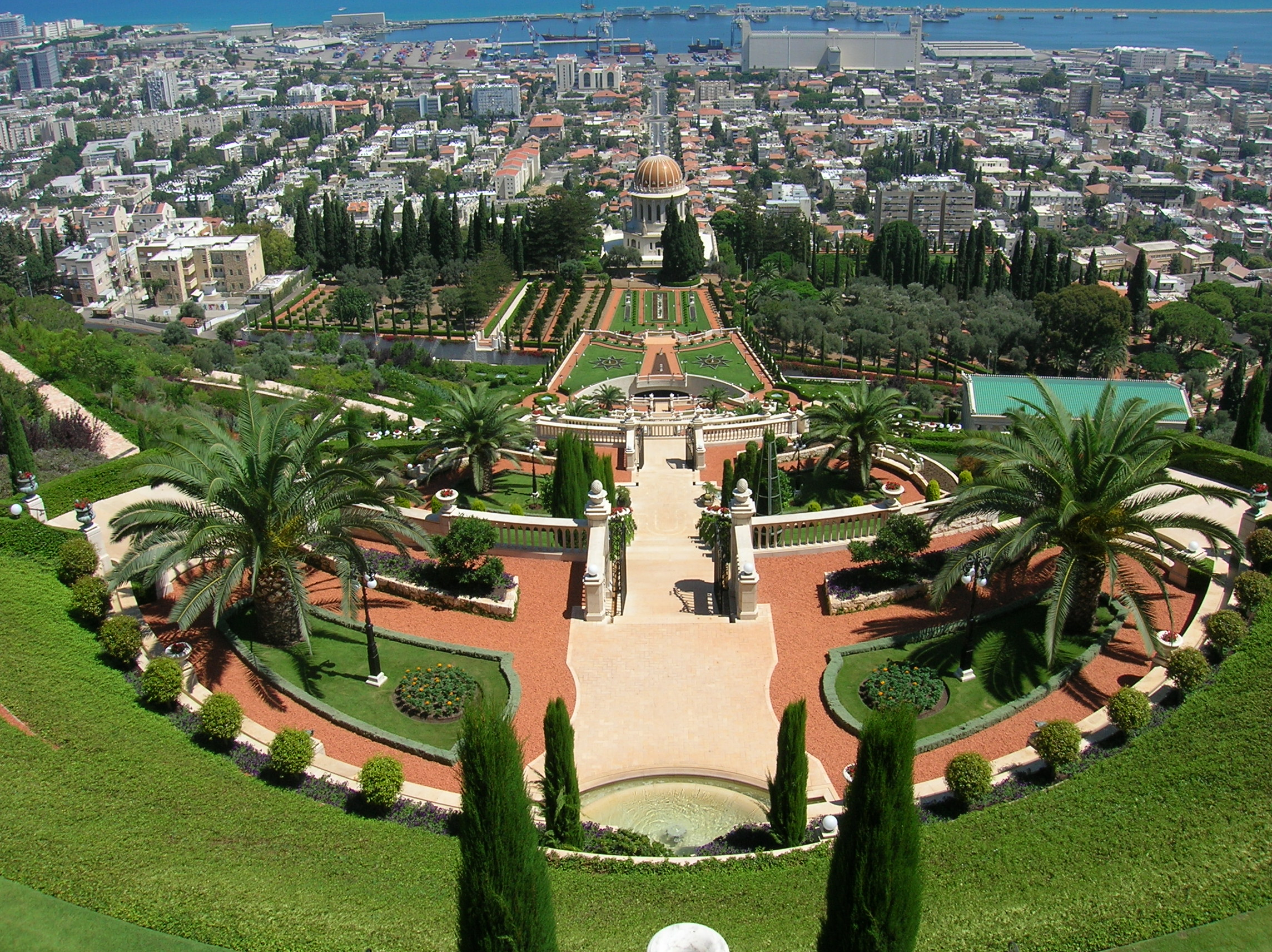 صورة حيفا عروس البحر , اكبر مدينة فلسطينية