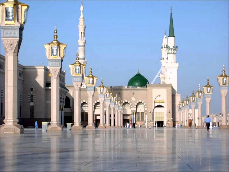 صورة الحرم المدني الشريف , صور مسجد المدينة المنورة