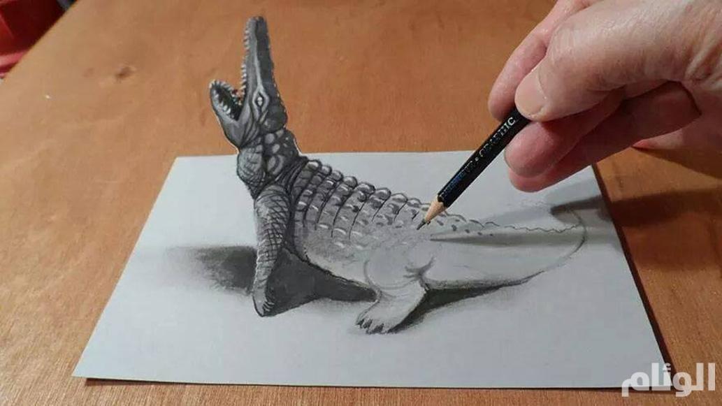بالصور فن الرسم بقلم الرصاص , صور معبرة تدل علي ابداع واتقان 396 10