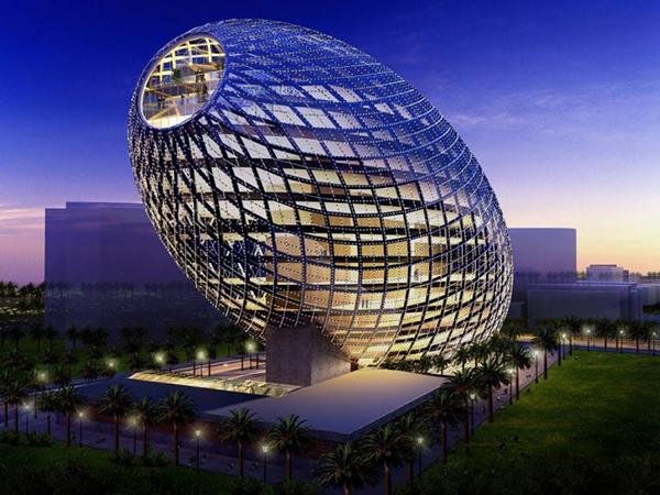 بالصور اغرب مباني العالم , صور تصميمات معمارية غريبة 3972 7
