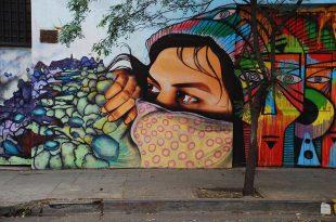 صوره الرسم على الشوارع ابداع , لوحات فنية في الشارع