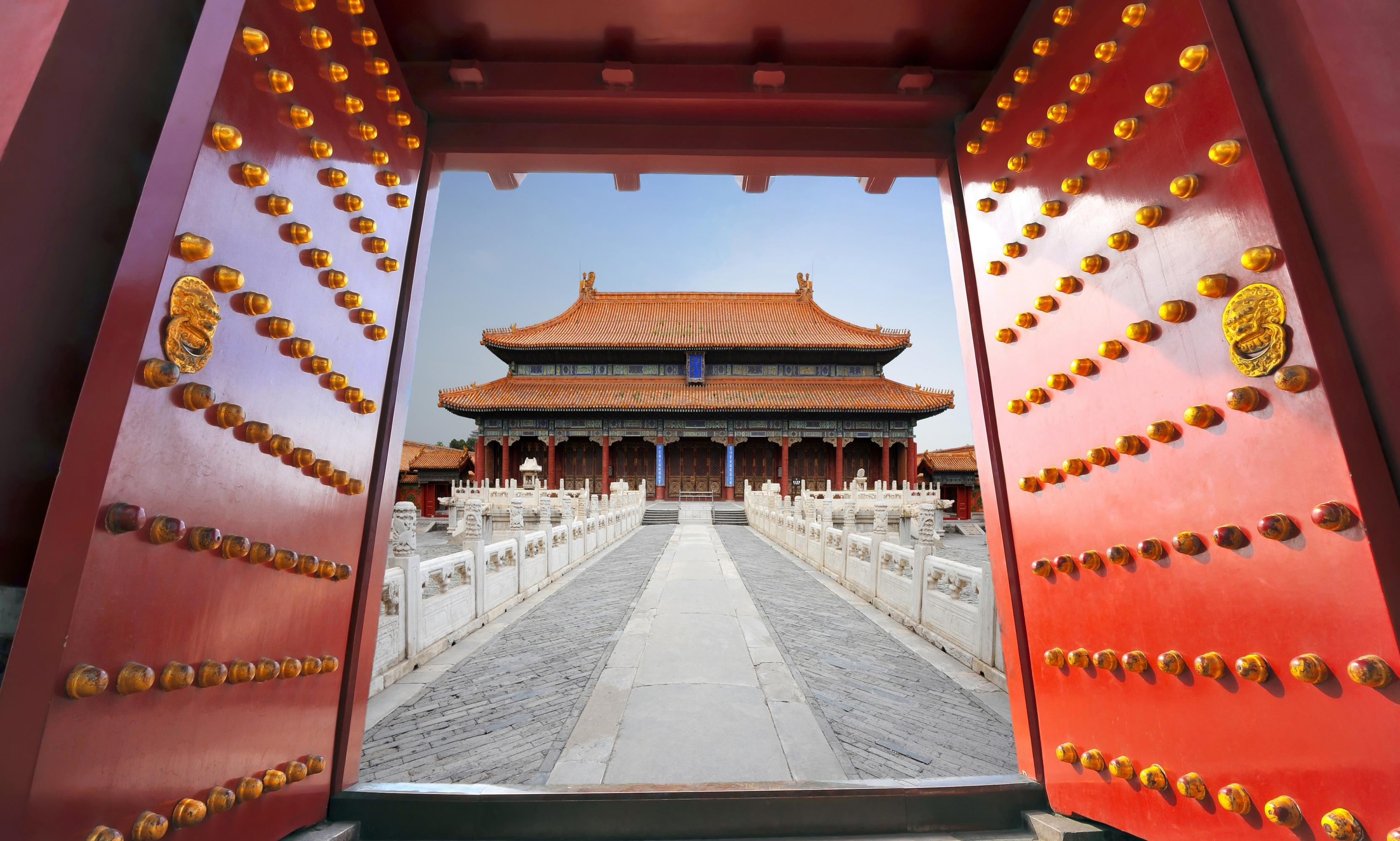 صورة المدينة المحرمة في الصين , صور مقر اباطرة الصين