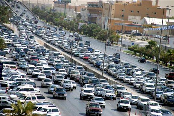 صورة زحمة ياناس زحمة , صور للاختناق المرورى و تكدس السكان