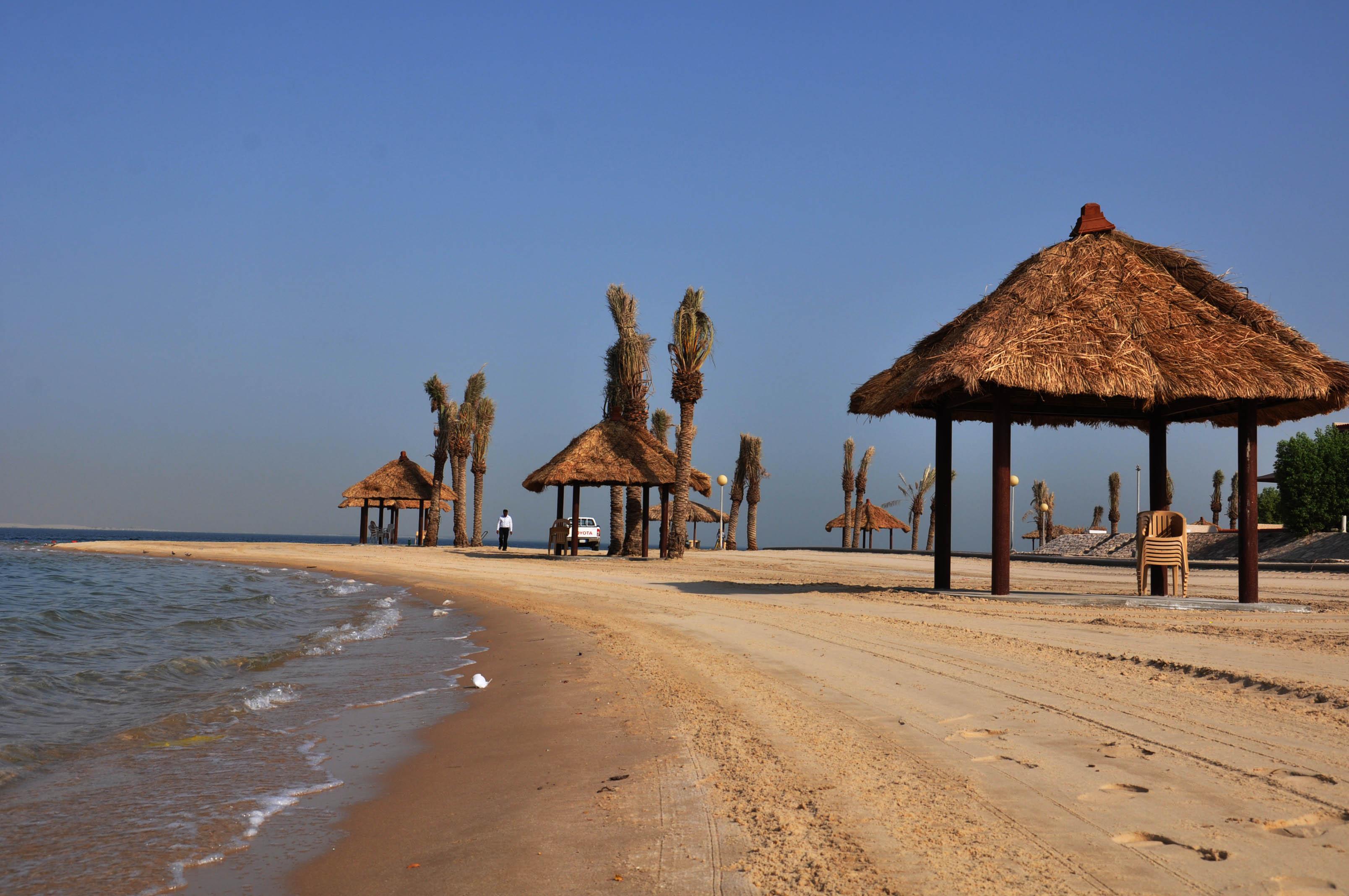صوره منتزه شاطئ النخيل بالجبيل , اروع المناظر التي تذهلك