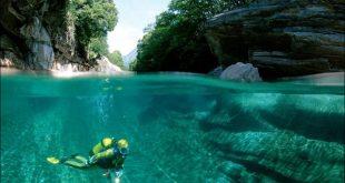 نهر فيرزاسكا في سويسرا , صور لمناظر طبيعية ساحرة