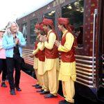 قطار المهراجا الفاخر في الهند , مهراجا اكسبريس قطار يضاهى فخامة القصور