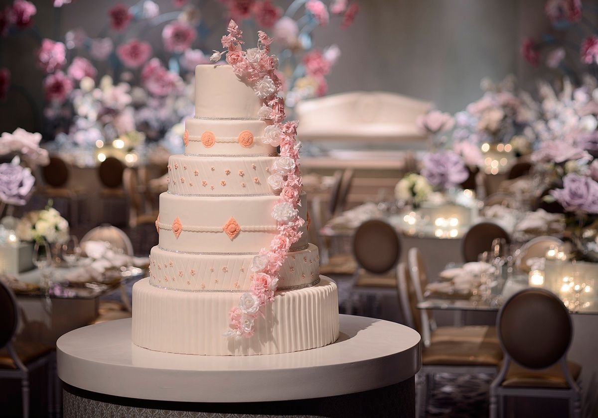 صوره صور كيك اعراس , احسن كعكات الزفاف